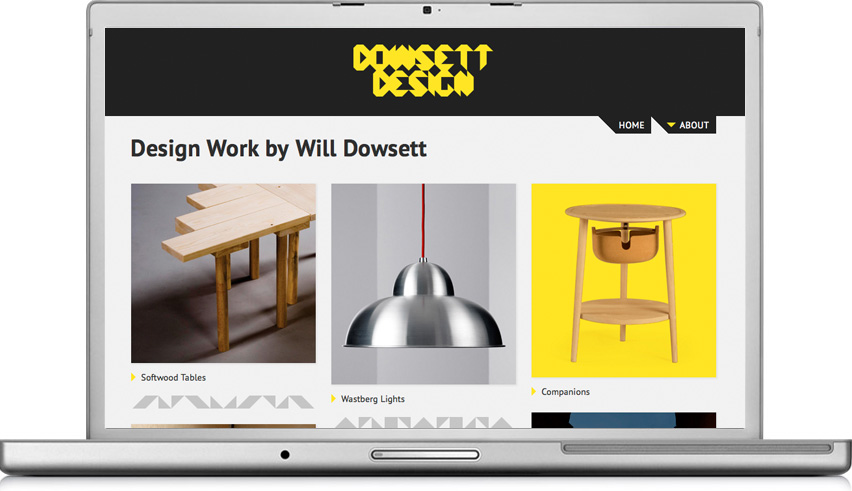 Dowsett Design homepage