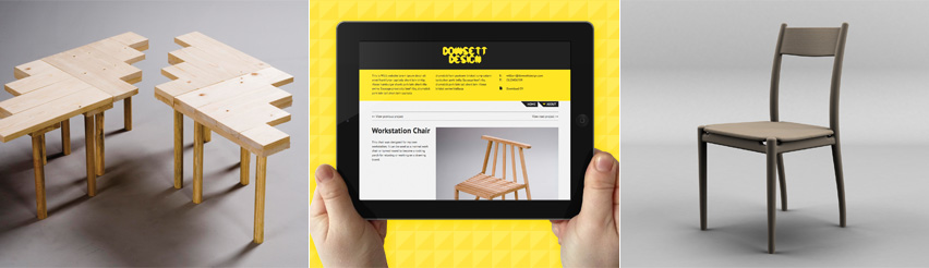 Dowsett Design projects and iPad