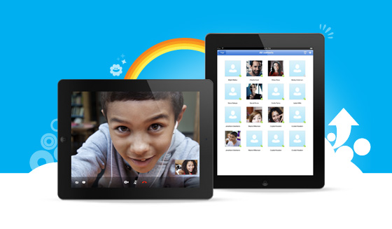 Skype interface