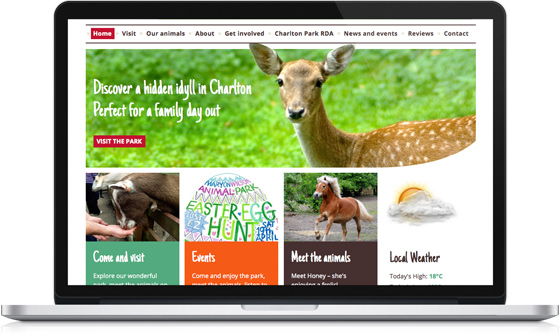 Maryon Wilson Animal Park website
